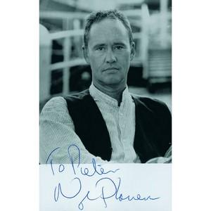 Nigel Planer  - Autograph - Signed Black and White Photograph