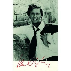Ian Ogilvy  - Autograph - Signed Black and White Photograph