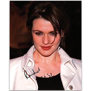 Rachel Weisz  - Autograph - Signed Colour Photograph