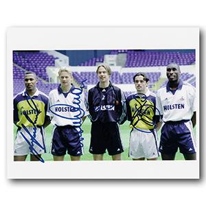Ferdinand, Iverson, Walker & Carr  - Autograph - Signed Colour Photograph