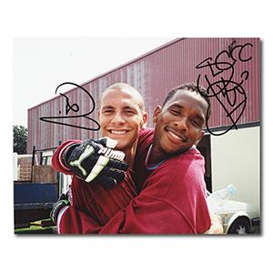 Rio Ferdinand & Shaka Hislop