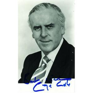 George Cole - Autograph - Signed Black and White Photograph