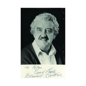 Bernard Cribbins - Autograph - Signed Black and White Photograph