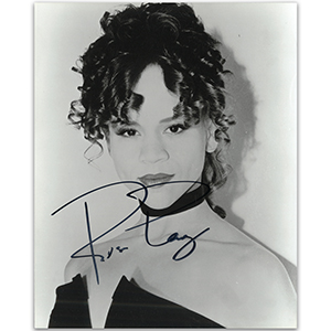 Rosie Perez - Autograph - Signed Black and White Photograph
