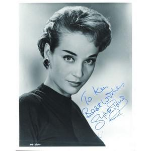 Sylvia Syms - Autograph - Signed Black and White Photograph