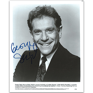 George Segal - Autograph - Signed Black and White Photograph