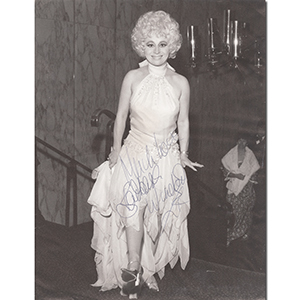 Barbara Windsor - Autograph - Signed Black and White Photograph