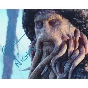 Bill Nighy  - Autograph - Signed Colour Photograph