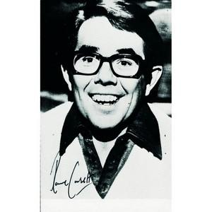 Ronnie Barker & Ronnie Corbett - Autograph - Signed Black and White Photograph