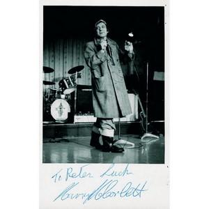 Harry H Corbett - Autograph - Signed Black and White Photograph