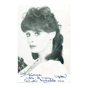 Vicki Michelle - Autograph - Signed Black and White Photograph