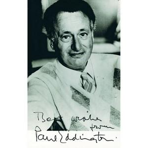 Paul Eddington - Autograph - Signed Black and White Photograph