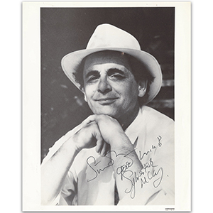 Sylvester McCoy - Autograph - Signed Black and White Photograph