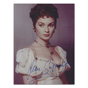 Jean Simmons  - Autograph - Signed Colour Photograph
