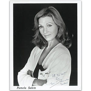 Pamela Salem - Autograph - Signed Black and White Photograph