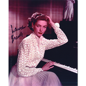 Lauren Bacall - Autograph - Signed Colour Photograph