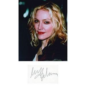 Madonna - Autograph - Signed Colour Photograph