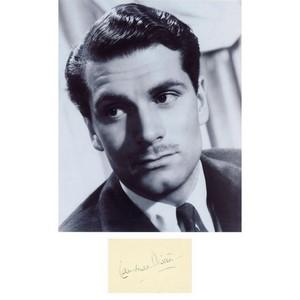 Laurence Olivier - Autograph - Signed Black and White Photograph
