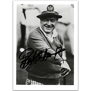 Bob Hope - Autograph - Signed Black and White Photograph