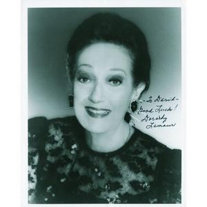 Dorothy Lamour - Autograph - Signed Black and White Photograph