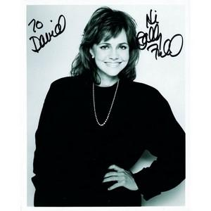 Sally Field - Autograph - Signed Black and White Photograph
