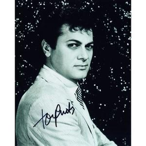 Tony Curtis - Autograph - Signed Black and White Photograph