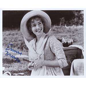 Emma Thompson - Autograph - Signed Black and White Photograph