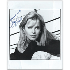 Cheryl Ladd - Autograph - Signed Black and White Photograph