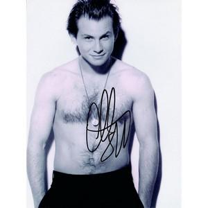 Christian Slater - Autograph - Signed Black and White Photograph