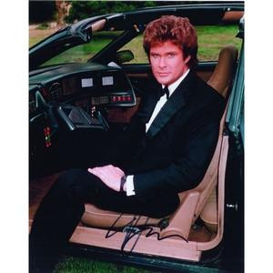 David Hasselhoff - Autograph - Signed Colour Photograph
