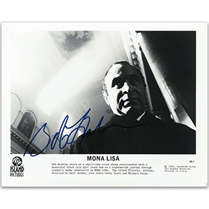 Bob Hoskins - Autograph - Signed Black and White Photograph