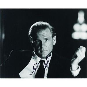 Nick Nolte - Autograph - Signed Black and White Photograph