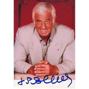 Jean-Paul Belmondo - Autograph - Signed Colour Photograph