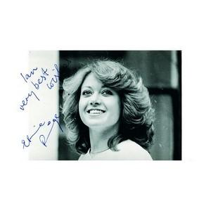 Elaine Paige - Autograph - Signed Black and White Photograph