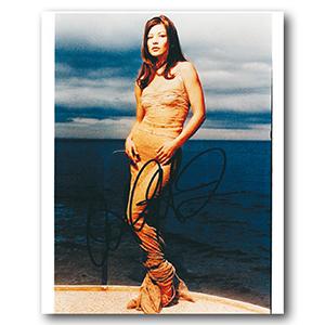 Catherine Zeta Jones - Autograph - Signed Colour Photograph