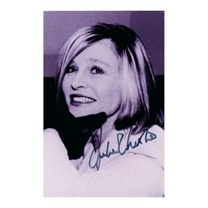 Julie Christie - Autograph - Signed Black and White Photograph