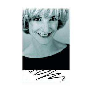 Jane Horrocks  - Autograph - Signed Black and White Photograph