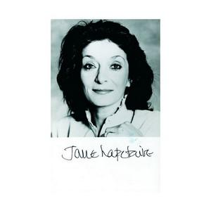 Jane Lapotaire  - Autograph - Signed Black and White Photograph