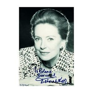 Deborah Kerr - Autograph - Signed Black and White Photograph