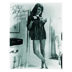 Jacqueline Bisset - Autograph - Signed Black and White Photograph