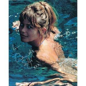 Claudia Schiffer - Autograph - Signed Colour Photograph