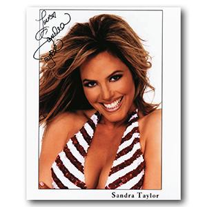 Sandra Taylor - Autograph - Signed Colour Photograph