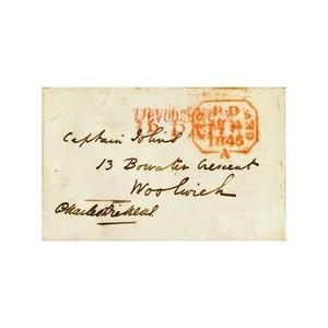 Charles Dickens - Signature -  Signed Handwritten Envelope
