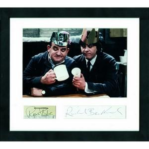 Richard Beckinsale & Ronnie Barker - Autograph - Signed Colour Photograph