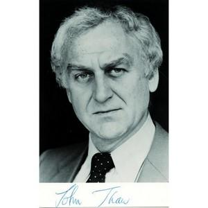 John Thaw - Autograph - Signed Black and White Photograph