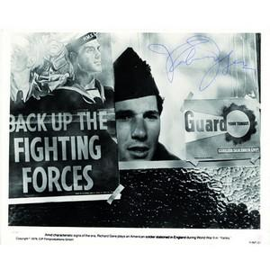 Richard Gere - Autograph - Signed Black and White Publicity Card
