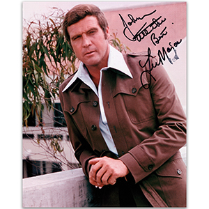 Lee Majors - Autograph - Signed Colour Photograph