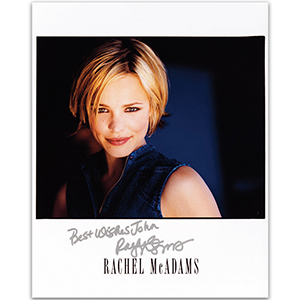 Rachel McAdams - Autograph - Signed Colour Photograph