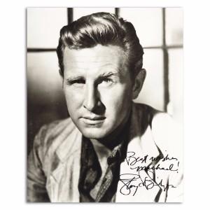 Lloyd Bridges - Autograph - Signed Black and White Photograph
