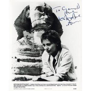 Lesley-Anne Down - Autograph - Signed Black and White Photograph